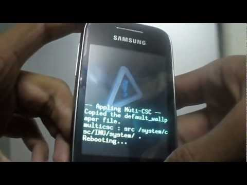 how to change skin on galaxy y