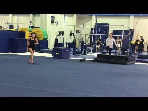Katelyn Ohashi Revamped Floor Routine Ucla Gym Source