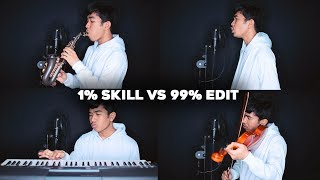 Video 1% SKILL MUSIK 99% EDITAN MP3, 3GP, MP4, WEBM, AVI, FLV Januari 2019