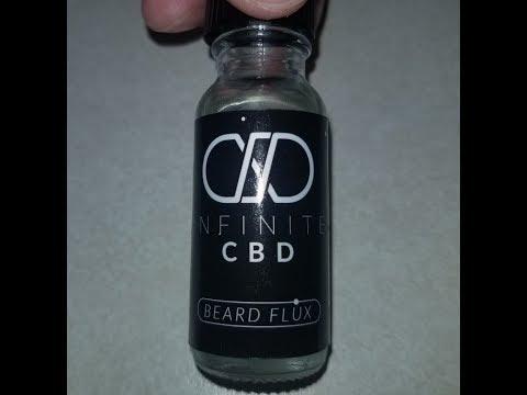 Infinite CBD Beard Flux (Beard Oil) Review from 920 CBD