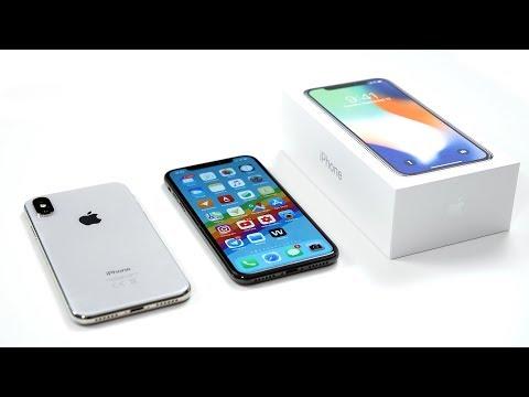 Распаковка iPhone X