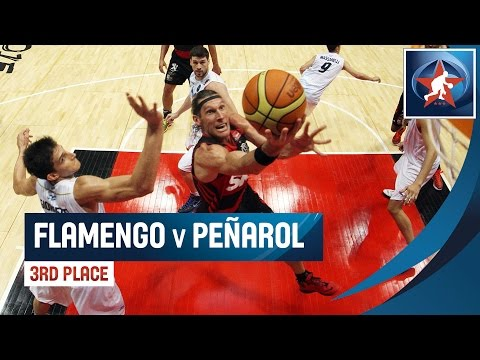 Flamengo (BRA) Vs. Peñarol (ARG) - Game Highlight - Final Four - 2015 Liga De Las Americas