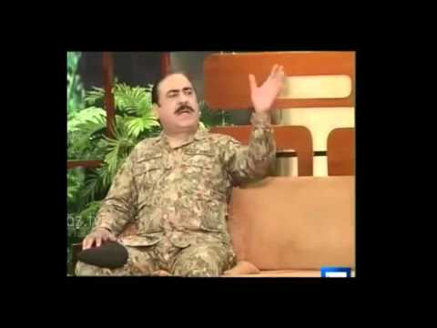 Azizi as General Raheel Sharif 2   Must Watch