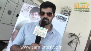 Naveen Chandhra at Sarabam Movie Team Interview