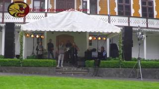 To mark the end of the Coronation Jubilee tour of Their Majesties King Harald and Queen Sonja of the Kingdom of Norway, a Royal Garden Party in Myren Farm in...