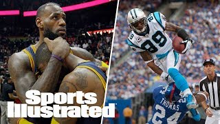 """Deciphering the fact from """"fake news"""" in the LeBron-Kyrie feud. Can Kyrie be the leader on a contender? Robin discusses why the NBA is starting to become more popular than the NFL. Dr. Jesse Mez talks about the CTE study that was released yesterday, as well as how the word concussion confuses people about the real cause of CTE. Peter King discusses if the NFL will continue to be the No Fun League. Joe Fauria takes some laps in a Formula E Go-Kart.Subscribe to ►► http://po.st/SubscribeSIFollow the latest NFL news and highlights, with updates on your favorite team and players. Want to know what's up with Russell Wilson, Cam Newton, Tom Brady and more? We've got you covered:http://po.st/PlaylistSI-NFLCan the Cleveland Cavaliers repeat? Will the Golden State Warriors make history again? Keep up with all the important NBA updates, including news on LeBron James, Kevin Durant, Steph Curry and more:http://po.st/PlaylistSI-NBAFrom Bryce Harper and Mike Trout to Clayton Kershaw and Madison Bumgarner, Sports Illustrated brings you the smartest commentary and inside stories on the latest MLB news:http://po.st/PlaylistSI-MLBCheck out the most recent clips and highlights from episodes of SI Now, Sports Illustrated's daily talk show. From interviews with the biggest newsmakers to discussions with our award winning writers and editors, SI Now is your spot for all things  football, basketball, baseball and everywhere else around the world of sports:http://po.st/PlaylistSI-NowThe best of SI's award-winning video storytelling. From household names to the lesser known, SI Films' features and series explore the most powerful stories in sports:http://po.st/PlaylistSI-FilmsCONNECT WITH Website: http://www.si.comFacebook: http://po.st/FacebookSITwitter: http://po.st/TwitterSIGoogle+: http://po.st/GoogleSIInstagram: http://po.st/InstagramSIMagazine: http://po.st/MagazineSIABOUT SPORTS ILLUSTRATEDSports Illustrated offers sports fans trusted, authentic, agenda-free reporting and storytellin"""