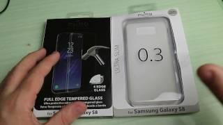 Applicazione e recensione pellicola vetro Full Screen e cover 0,3 per Samsung Galaxy S8 by Puro