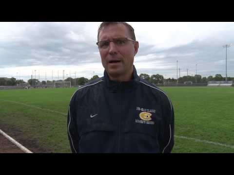 Coach Yengo recaps 2-1 loss in home opener vs. Bethel