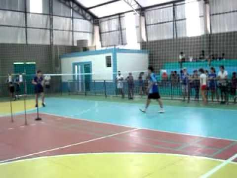 Mateus - Campeão no Badminton em Alambari