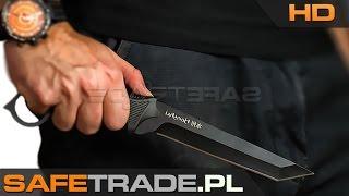 KUP TERAZ / Buy It Now: http://safetrade.pl/united-cutlery-honshu-aizu-ring-fighter-tantoFacebook: http://www.facebook.com/SafeTradeMusic: Anotsu - Man On The Run[UC-35] United Cutlery™ Nóż Honshu Aizu Ring Fighter Black TantoNajnowszy nóż marki United Cutlery z kultowej serii Honshu. Udoskonalona wersja modelu Honshu Fighter o całkowicie zmienionym, nowoczesnym kształcie. Solidne ostrze typu tanto zostało wykonane z najwyższej jakości stali 7Cr13 z bezodblaskową anodyzowaną powłoką. Gumowana rękojeść z wyprofilowanymi wyżłobieniami pod palce daje Ci jeszcze pewniejszy chwyt i kontrolę nad nożem. Podobnie jak starsza wersja Henshu Aizo Ringed Tanto daje Ci nie tylko moc i siłę przebicia dzięki swoim gabarytom, ale może być również użyty jako karambit dzięki specjalnej konstrukcji rękojeści zawierającej otwór z pierścieniem na palec. W zestawie znajduje się także wysokiej jakości skórzane etui mocowane do paska. Długość całkowita noża wynosi ok. 30,80 cm. Zapraszamy do oglądania galerii zdjęć i prezentacji wideo!  [UC-35] United Cutlery™ Nóż Honshu Aizu Ring Fighter Black Tanto UC3073 Fabrycznie nowy, oryginalny produkt amerykańskiej firmy United Cutlery™ Możesz zobaczyć ten produkt na żywo na naszej prezentacji wideo HD Profesjonalnie wykonany i naostrzony, wielozadaniowy nóż taktyczny Całkowita długość noża wynosi ok. 31cm Wykonany ze stali 7Cr13 Zero odblasków dzięki czarnej, anodyzowanej powłoce Gumowana, profilowana rękojeść zapewnia idealny chwyt Dzięki specjalnej konstrukcji może służyć jako karambit Oczko, pierścień na palec ze szpicem Wysokiej jakości skórzane etui do pasa Noże w oryginalnym opakowaniu producenta United Cutlery Unikalny towar w świetnej cenie (niedostępny w polskich sklepach) Prosto od producenta, produkt fabrycznie nowy w oryginalnym opakowaniu W zależności od dostawy produkt może różnić się opakowaniem zewnętrznymHonshu Aizu Ring Fighter Black Tanto Knife United Cutlery Nóż UC3073  www.safetrade.plwww.safetrade.pl,safetrade.pl,safetrade,ww