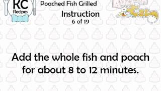 KC Poached Fish Grilled YouTube video