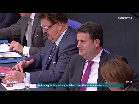 Bundestagsdebatte zur gesetzlichen Rentenversicherung am 12.10.18