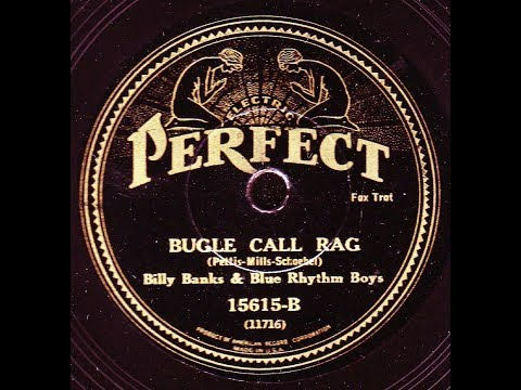 Billy Banks Blue Rhythm Boys: Bugle Call Rag  1932