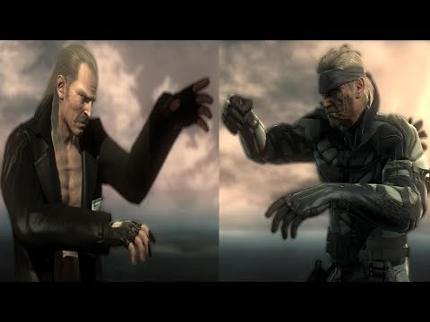 Solid Snake vs Liquid Ocelot (Full Moveset, Highest Difficulty, Full HD)