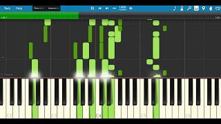 demi lovato - sorry not sorry piano tutorial  instrumental  karaoke  synthesia remix version  cover.