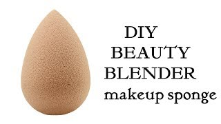 DIY Beauty Blender in 10 rs | Make your own  makeup beauty blender Sponge