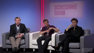 Sit down with Harry Styles, Fionn Whitehead and Christopher Nolan for a first look at their newest action thriller, Dunkirk.