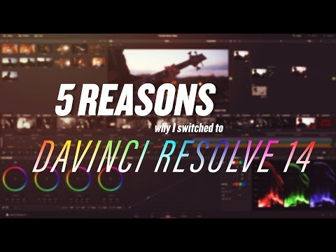 5 Reasons Why I Switched to Davinci Resolve 14/15 (from Premiere Pro)