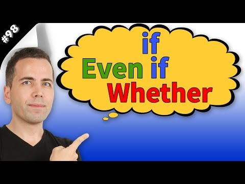 If, Even if, Whether Konu Anlatımı #98