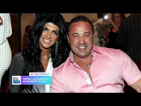 'REAL HOUSEWIVES OF NEW JERSEY' HUSBAND JOE GIUDICE TO BE DEPORTED TO ITALY