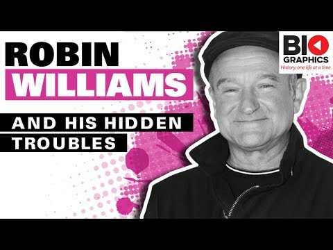 Robin Williams Biography: The Darkness Behind the Light