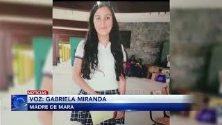 Entrevista con Gabriela Miranda, madre de Mara Miranda joven desaparecida