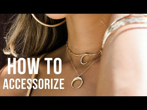 How to Accessorize Outfits  How to Layer Necklaces