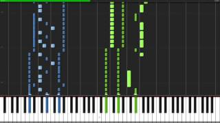 Video Through the Fire and Flames - Dragonforce [Piano Tutorial] (Synthesia) // John Yang Piano MP3, 3GP, MP4, WEBM, AVI, FLV Desember 2017