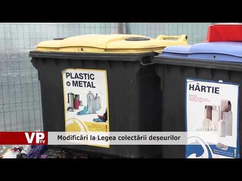Modificări la Legea colectării deșeurilor