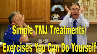 Video Simple TMJ Treatments/Exercises You Can Do Yourself To Stop Pain/Clicking In Jaw MP3, 3GP, MP4, WEBM, AVI, FLV Januari 2019