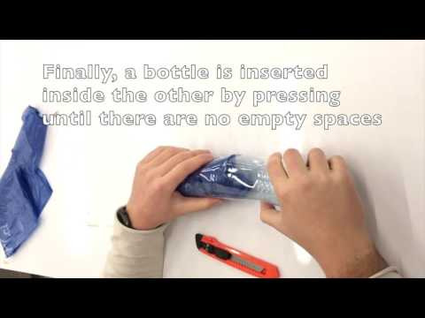 Sustanible Project UDD: How to Make an Insulation Module with Recycled Materials