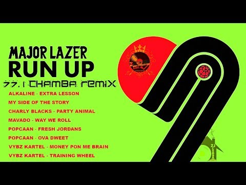 POPCAAN   FRESH JORDANS-Major Lazer Run Up+++REFIX