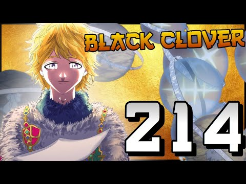 Julius Is The God Of TIME! | Black Clover Chapter 214