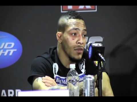 Bantamweights - UFC on FX 1 press conference with Mike Easton as he discusses his victory over Jared Papazian, whether he was shocked by the scoring and if he felt he might ...