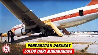 Download Video Pendaratan Darurat Terbaik Pesawat Yang Lolos Dari Mara Bahaya, Terakhir Dari indonesia MP3 3GP MP4