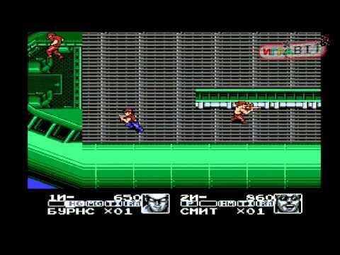 Стрим игры Contra Force (NES\\денди) прохождение