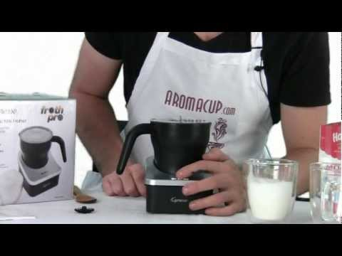 Review: Capresso frothPRO Automatic Milk Frother