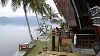 Samosir Indonesia  city pictures gallery : Traditional Batak house, Mas Cottages, Samosir island, lake Toba, Sumatra, Indonesia