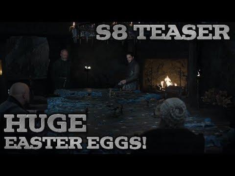 Game of Thrones Season 8 Teaser Breakdown and Easter Eggs | Big Clues