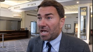 EDDIE HEARN RAW! - REACTS TO FURY WIN, GOES IN ON ARUM / ELLERBE, TAYLOR, NO CONTEXT HEARN, WHYTE