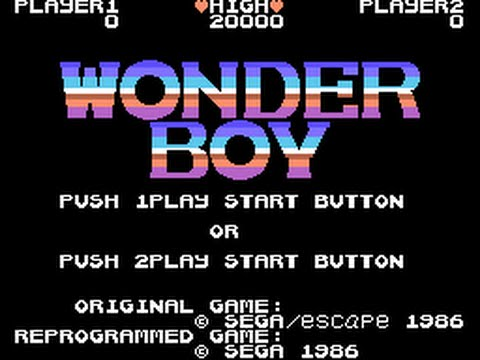 SG-1000 Longplay [12] Wonderboy