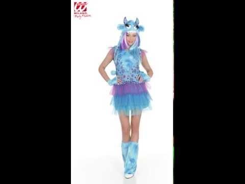 Deguisement de Monstre Bleu-w20039