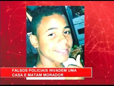 [RONDA GERAL] Falsos policiais invadem casa e matam morador
