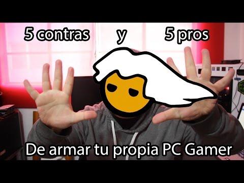 5 pros y 5 contras de armar tu propia PC Gamer!