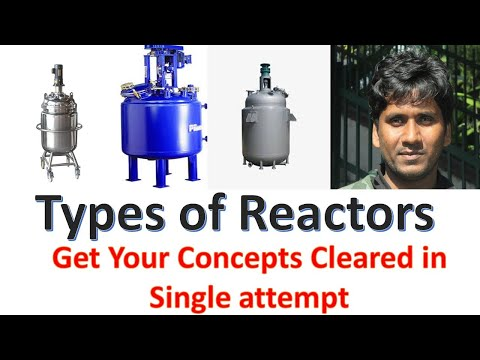Types of Chemical Reactor || Chemical reactor types || Batch || CSTR || PFR || Basics