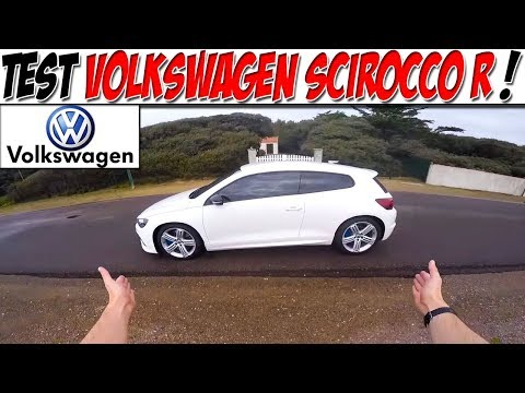 #CarVlog 7 : TEST VOLKSWAGEN SCIROCCO R 312 ch / Missile Sol - Air