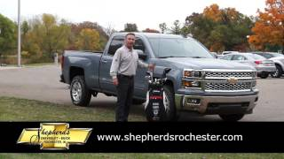 Shepherd's Chevrolet-Buick Silverado Ad