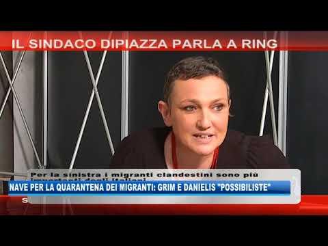 12/09/2020 - NAVE PER LA QUARANTENA DEI MIGRANTI: GRIM E DANIELIS 'POSSIBILISTE'