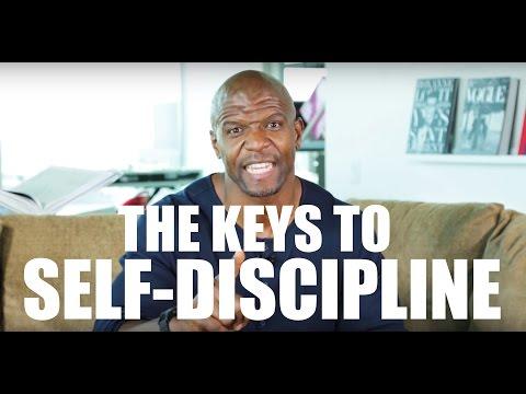 TERRY CREWS' 5 KEYS TO SELF DISCIPLINE!!!