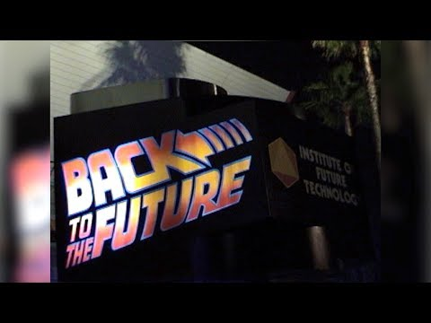 Back to the Future the Ride - Final Day 2007